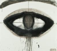 l'occhio, olio su tela 103x103 cm, 2011 collezione privata