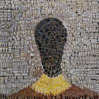 Maya, olio su tela 100x100 cm, 2011 collezione privata